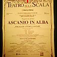La Programma: For Mozart's Ascanio in Alba at Teatro alla Scala