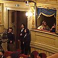 Mrs. Muti at Donizetti's Don Pasquale in Ravenna