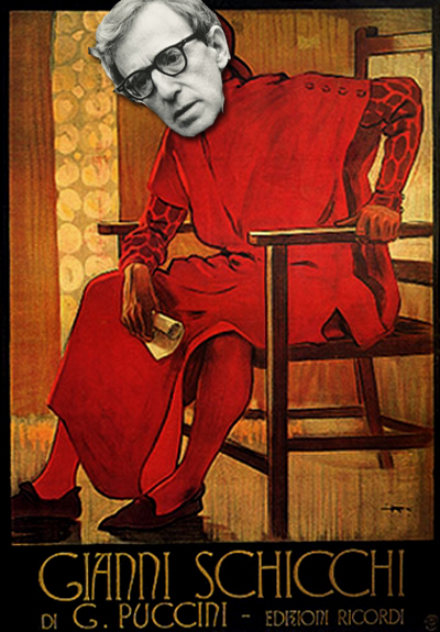 Gianni Schicchi - Italian Poster