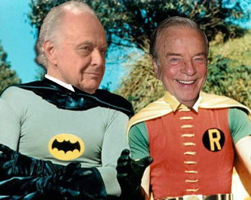 Batman robin no mask