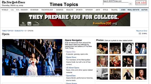 Topics nytimes