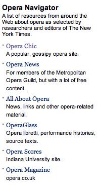 Opera navigator