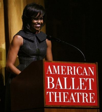ABT Honorary Chairwoman & First Lady, Michelle Obama, was wooed by the  American Ballet Theatre's 2009 Opening Night Gala, and was in attendance  last night ...
