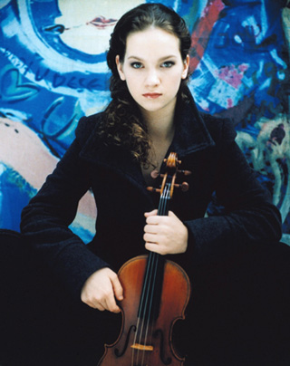 Hilary hahn blue