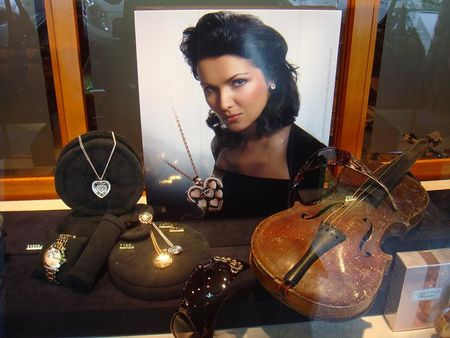 Anne Sophie Netrebko (Cartier window Baden-Baden)