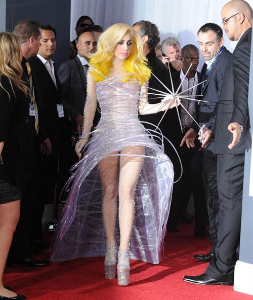Gaga in armani