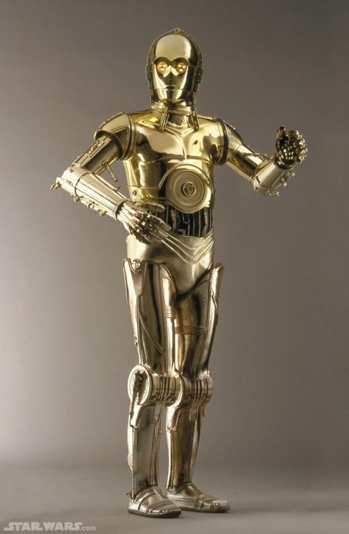 C3PO-Robot