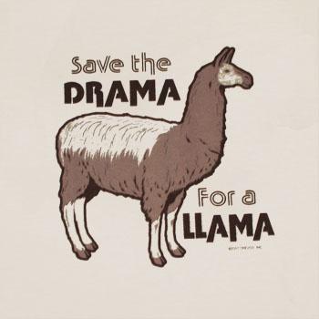Humor_Drama_Llama_Cream_Shirt