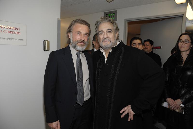 Christoph Waltz and Placido Domingo(1)