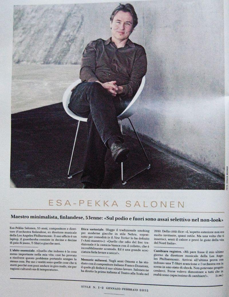 Esa Pekka Salonen for CDSStyle01