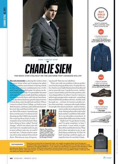 Esquire USA March 2013
