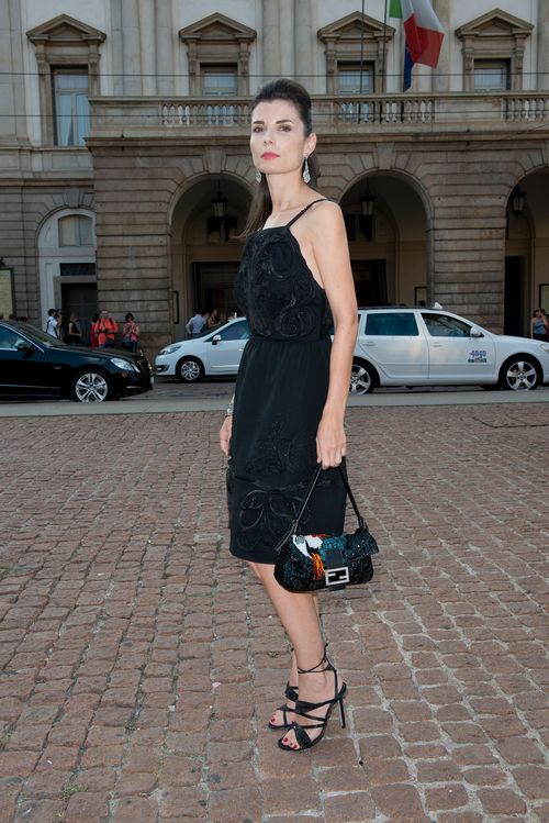 FENDI for Chiara Muti_La Scala premiere.