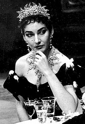 Maria Callas On Stage Worn by maria callas in