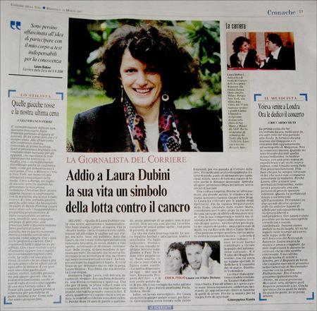 Opera chic march 2007 for Necrologio corriere della sera
