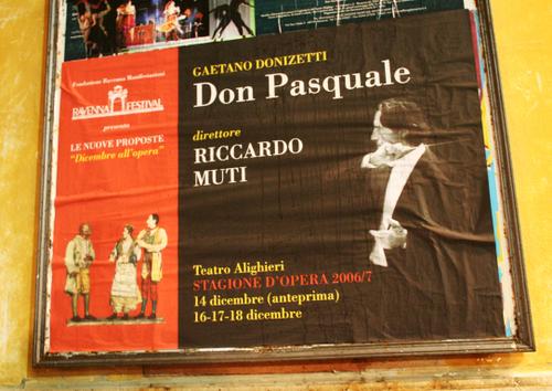 Maestro Riccardo Muti conducts Donizetti's Don Pasquale in Ravenna
