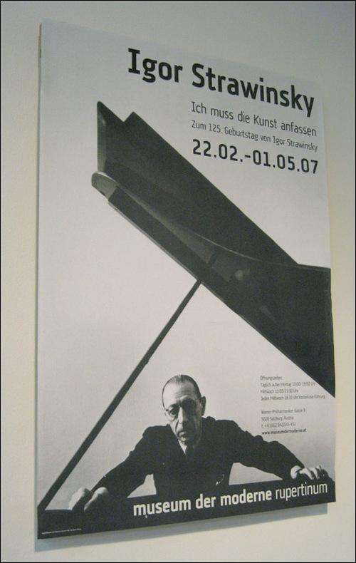 Igor Stravinsky: Exhibition media