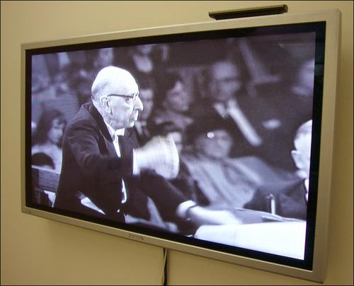 Igor Stravinsky: Image on Plasma