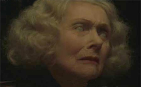 Old blind lady